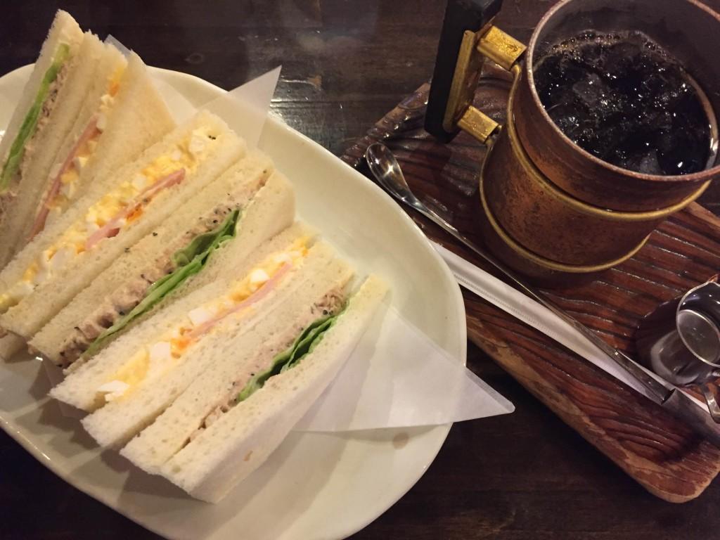 2016/08/01 【今日のランチ】 渋谷の『シャルマン』。 昭和の喫茶店を開拓中。